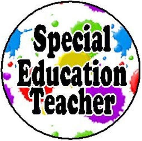 Education example resume special teacher